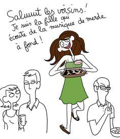 "More illustrations LINE BOTWIN ""lol"" - P. Bagieu"
