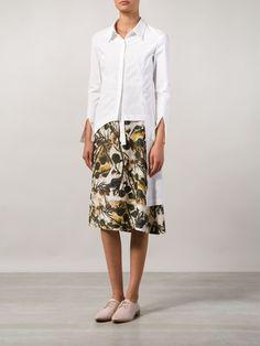 H. Lorenzo X Dongliang Deepmoss Asymmetric Shirt - H. Lorenzo - Farfetch.com