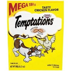 TEMPTATIONS Classic Treats for Cats Tasty Chicken Flavor 6.3 Ounces *** To view further for this item, visit the image link.