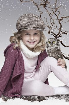 ALALOSHA: VOGUE ENFANTS: The most snowy campaigns: Mole Little Norway