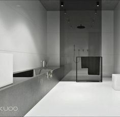 Kuoo Architects - Bath Tub, Bathroom Design, Bathroom Shower, Contemporary Bathroom, Glass Cabin, Minimal Design, Shower Cabin
