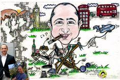 YAŞGÜNÜ KARİKATÜRÜ - Birthday Caricature