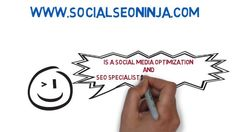 http://www.SocialSEONinja.com is a Social Media Optimization and Search Engine Optimization Specialist. Social SEO Ninja uses the most powerful online marketing and affordable Social Media and Search Engine Optimization services, we have a proven performance history of helping businesses to grow and develop. http://www.socialseoninja.com/whiteboard-marketing-video/