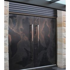 Viper Door in Bronze & Graphite | Axolotl