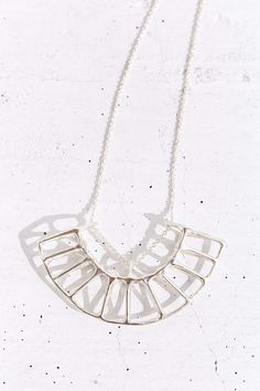Better Late Than Never Radial Necklace