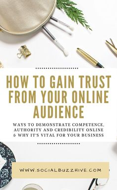 How to gain trust from your online audience and why it matters for your business! #onlinebusiness #smallbusiness #workfromhome