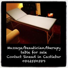 Massage table for sale in Castlebar, Mayo Massage Table, Outdoor Furniture, Outdoor Decor, Sun Lounger, Home Decor, Chaise Longue, Homemade Home Decor, Decoration Home, Yard Furniture
