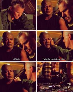 Jack and Teal'c have a friendship that requires no words.