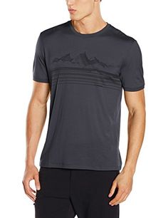 Camp Clothing - Icebreaker Mens Tech Lite Approach Short Sleeve Crewe TShirts * You can find more details by visiting the image link.