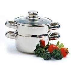 3PC S/S 1 QT STEAMER/COOKER http://www.coast2coastkitchen.com/store/cooking/cookware-/3pc-ss-1-qt-steamercooker-