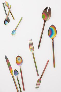 Slide View: 2: Gloss-Washed Cutlery