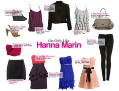 "Girly Style - ""Hanna Marin""  Pretty Little Liars"