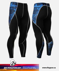 FIXGEAR P2L-B1 Compression Leggings Pants