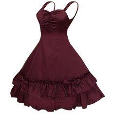 http://www.amazon.de/Partiss-Shoulder-Straps-Ruffles-Burgundy/dp/B013BJSVAW/ref=sr_1_1?s=apparel