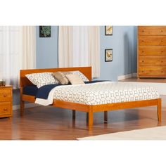 FREE SHIPPING! Shop Wayfair for Atlantic Furniture Urban Lifestyle Orlando Bed - Great Deals on all Furniture products with the best selection to choose from!