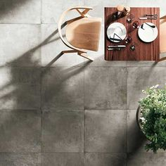 Our East Belt matt tile in Ash.  600mm x 600mm.