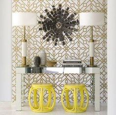 Small Space Ideas / {IDEAS} Creative Decorating Ideas For Small Spaces: Add Extra Seatings Under Console Table - CotCozy