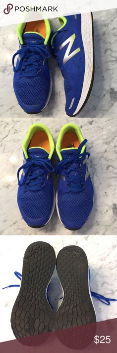 Men's New Balance Fresh Foam Zante 2 Size 9 Men's New Balance Fresh Foam Zante 2 Running Shoe Size 9. EUC. Never worn outside....just on a treadmill. Wait wait runner. From a non-smoking and pet free home. New Balance Shoes Athletic Shoes