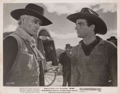 RED RIVER (1948) - John Wayne - Montgomery Clift - Directed by Howard Hawks - United Artists - Publicity Still.