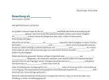 9 Probe Richtig Bewerben Muster Interview Bewerbungs Schreiben