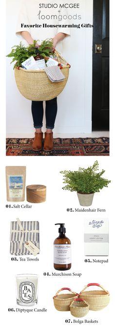 Favorite Housewarming Gifts || Studio McGee + Loom Goods