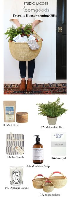 Favorite Housewarming Gifts || Studio McGee + Loom Goods