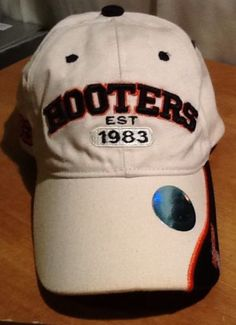 Hooters Official Licensed Raised Embroidered Ball Cap Hat French Quarter Orleans Sold $15.99
