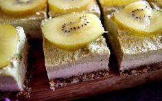 The combination of creamy texture and zingy taste makes these cheesecake slices the perfect shareable summer dessert.