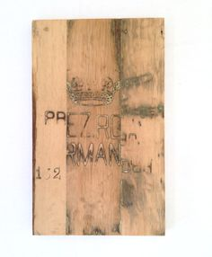 vintage oak board