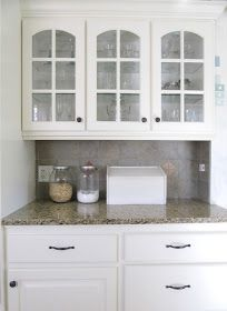 The Wicker House: Painted Kitchen Cabinets