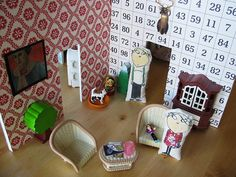 Lauren Child Dolls' house