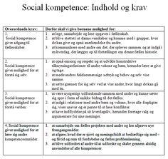Sociale kompetencer