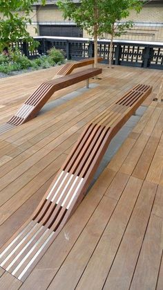 Idéias pra decks! #decks #timber#wood #floor