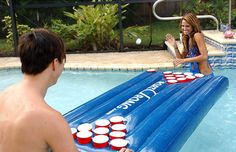 PORTOPONG Inflatable Pong Table... Um! YES!!!