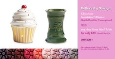 Choose one ScentGlow Warmer Plus three Scent Plus Melts for $ 25  (offer good through May 15, 2012)    www.partylite.biz/tanyacruz