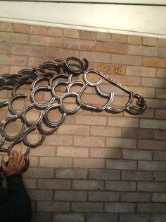 horseshoe horse @Samara Katzman Hutcheson Katzman Hutcheson