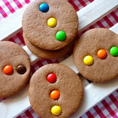 Switch up the M colours in these delicious Gingerbread Cookies to make them work for any holiday or celebration you desire. #food #gingerbread #cookies #Christmas #candy #baking
