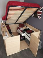 Kids Avenue Space Up double cabin bed with storage