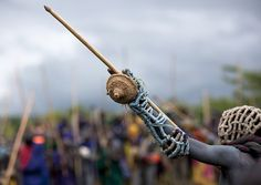Donga stick fighting in Surma tribe - Omo valley Ethiopia | Flickr - Photo Sharing!