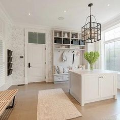 Pricey Pads - laundry/mud rooms -