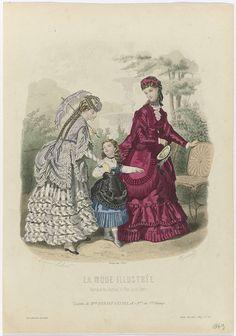 La Mode Illustrée, 1869