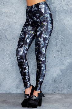 Familiars High Waisted Leggings - 48HR ($75AUD) by BlackMilk Clothing