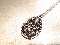 Ganesha Necklace, Ganesha, Jewelry, Spiritual necklace, Nepalese Jewelry,Tibetan Jewelry