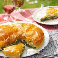 Spanakopita (feuilleté épinard-feta) - Marie Claire
