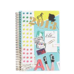 kate spade | 2013 desk top spiral calendar