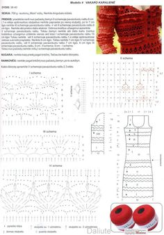 Page 3 of 3 *** Diagram directions for red dress * Very advanced crochet