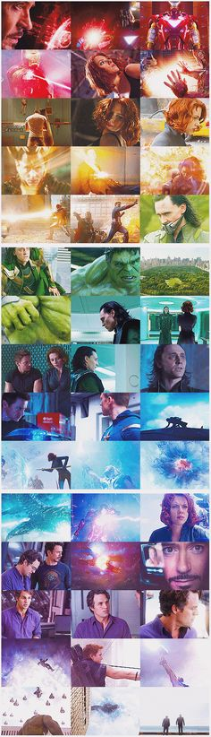 .avengers. I love the color change throughout the pic.
