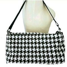 d4ff64a02038 Houndstooth Purse Handbag Shoulder Bag 15