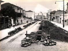 22/11/1958 - Rua Vergueiro, na Vila Mariana, vista das proximidades da avenida Domingos de Morais em direção à avenida Lins de Vasconcelos