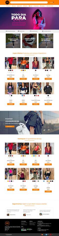Loja Virtual de Roupas. Oferecer opções modernas, coleções atuais, diversidade em peças e moda a preços acessíveis são compromissos da Planeta Calças.